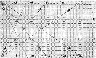 30 * 15センチキルティングツール服作りパッチワーク定規アクリルテーラーツール (Rustle666)