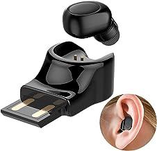 Single Ear Wireless Earbud Bluetooth Headset in-ear Mini Invisible Bluetooth Headphone..
