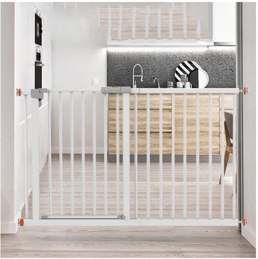 Puerta de seguridad Telescópica Puerta de la seguridad del bebé for escaleras de la cocina Dual