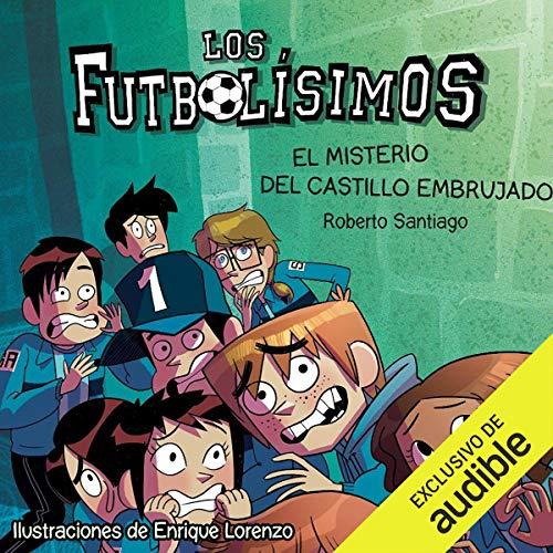 Diseño de la portada del título El Misterio Del Castillo Embrujado
