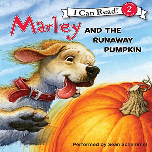 Marley and the Runaway Pumpkin audiobook cover art