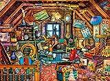 Buffalo Games - Aimee Stewart - Grandma's Attic - 1000 Piece Jigsaw Puzzle