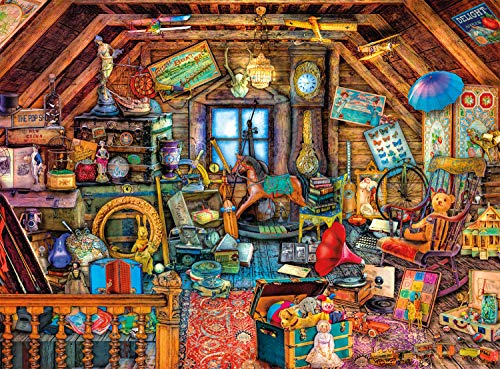 Buffalo Games 1000 Piece Jigsaw Puzzle with Hidden Images Now $6.94 (Was $14.99)