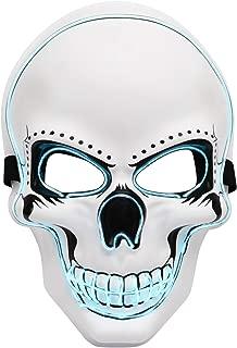 Best led neon skull mask Reviews
