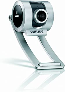 Philips SPC325NC Skype Compatible Webcam with Headset (Silver)