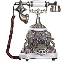 Vintage Antique Telephone Good Luck Art European Style Telephone Retro Home Landline (color : A)