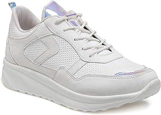 CS20054 Beyaz Kadın Spor Ayakkabı