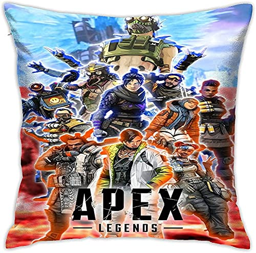 Ap-ex Leg-Ends Pillow Covers,Anime Washable Pillowcase,Home Sofa/Chair Seat Car/Bedroom/Living Room,Cushion Cover,Square Throw Pillowcase,Multiple
