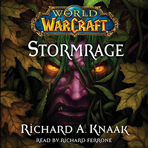 World of Warcraft: Stormrage audiobook cover art