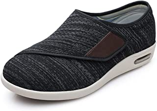 Sponsored Ad - ZUMEIJIA Women's Diabetic Shoes for Women Casual Velcro Adjustable Walking Shoes Wide Shoes for Elderly Swo...