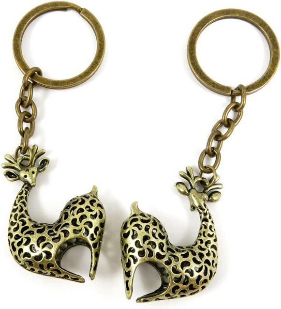 100 PCS Save money Keyrings Keychains Key Jewelry Max 51% OFF Findings Chains Tags Ring