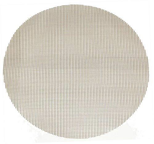 2 Stück culinario Grillmatte, antihaftbeschichtet, zuschneidbar, rund Ø 52 cm, als Backpapier Ersatz verwendbar