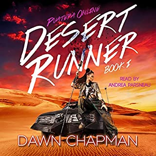 Desert Runner audiobook cover art