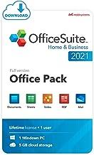 OfficeSuite Home & Business 2021 - Lifetime License - Documents, Sheets, Slides, PDF, Mail & Calendar for Windows [PC Onli...