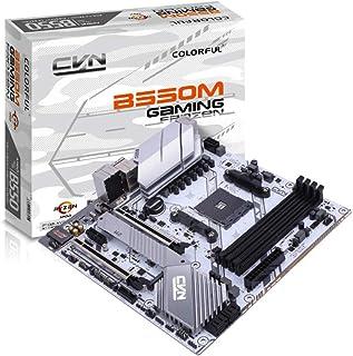 لوحة رئيسية للألعاب ملونة CVN B550M GAMING FROZEN V14 تدعم مقبس AMD AM4 و الجيل الثالث من معالجات AMD Ryzen