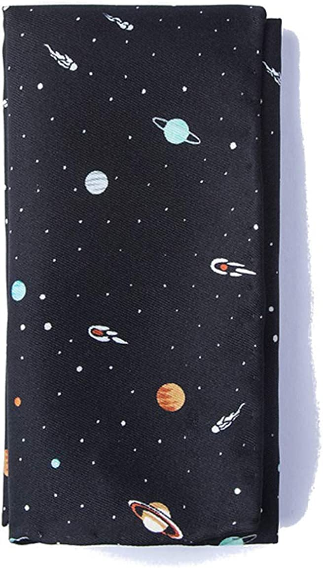 Men's Solar System Astronomy Solar Outer Space Handkerchief Pocket Square