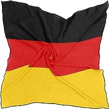 World National Flag Woman Chiffon Scarf Square Soft Wrap Shawl Silk Neckerchief