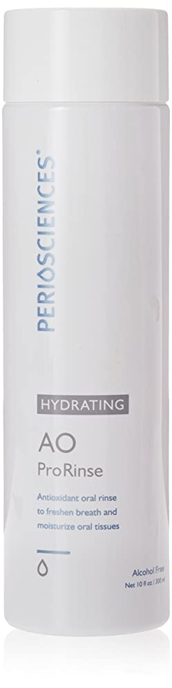 Alcohol Free AO ProRinse Hydrating Mouthwash with Antioxidants By Periosciences (10 Fl Oz Bottle) - Premium Mouthrinse Without Alcohol - Freshens Breath and Moisturizes Oral Tissues Caused by Dry Mouth - Achieve Your Best Oral Health!