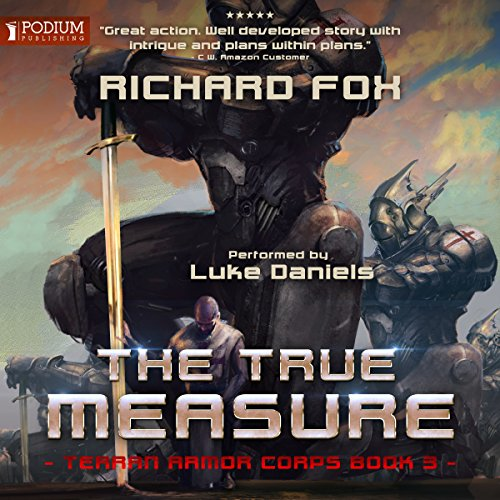 The True Measure audiobook cover art