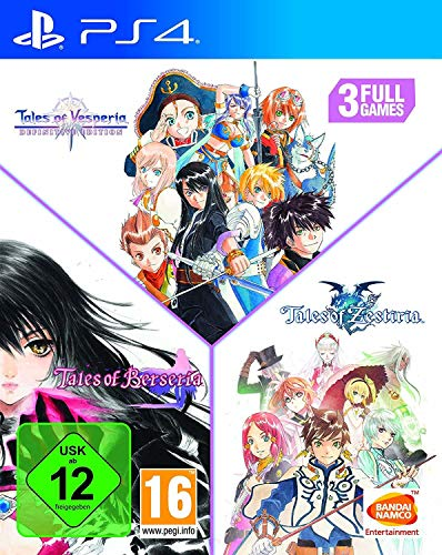 TALES OF TRILOGIE PS4 3 JEUX - TALES OF VERSPERIA + TALES OF ZESTIRIA + TALES OF BERSERIA
