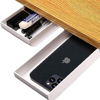 منظم درج قلم رصاص منبثق من DRAXON مكتب درج درج لتخزين سطح المكتب والمدرسة والمكتب والمنزل (رمادي)
