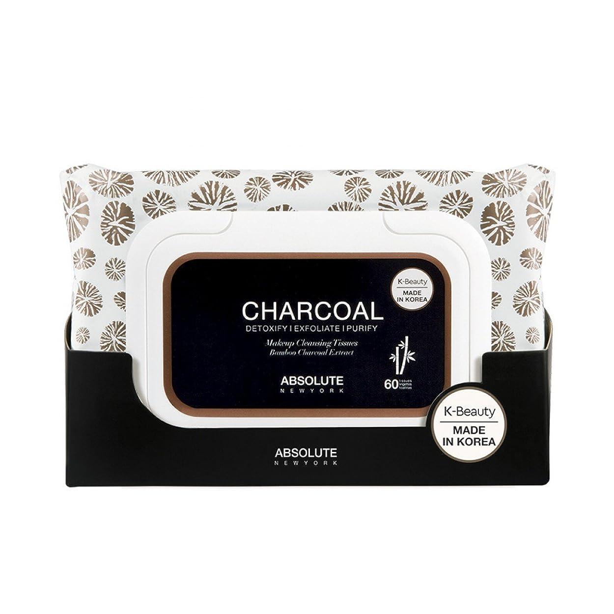 加速度ファンネルウェブスパイダー大洪水(6 Pack) ABSOLUTE Charcoal Cleansing Tissue (並行輸入品)
