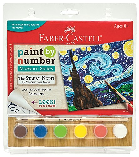Faber-Castell Paint by# Museum Series - Vincent Van Gogh, The Starry Night - Paint
