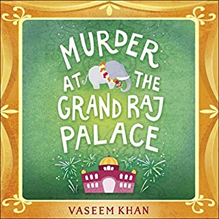 Murder at the Grand Raj Palace cover art