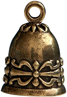 SUPVOX Campana de cobre Campana de cobre Campana de bronce vintage Cascabeles artesanales Campanas para carillón de viento Hacer llaveros encantos