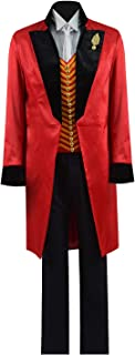 Greatest PT Barnum Cosplay Costume Performance Uniform Showman Party Suit