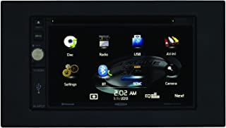 Jensen VX4020 6.2-Inch TFT Car Stereo 2.0 DIN MultiMedia Receiver with Built-In Bluetooth and Ext Mic/USB/App Control