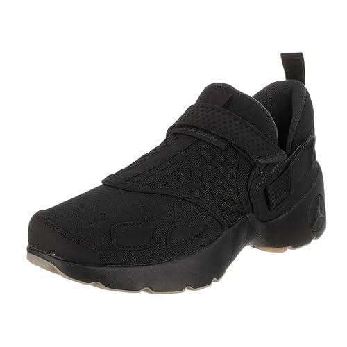 Jordan Mens Trunner LX Black Anthracite Gum Yellow Size 10.5 f3246061d