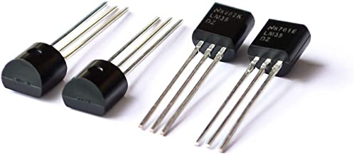 TD-ELECTRO 1PCS LM35DZ TO-92 LM35 Precision Centigrade Temperature Sensors (Original)