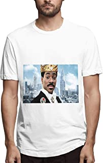 Mans Coming to America.webp Fashion Leisure Round Neck Tee