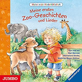 Meine ersten Zoo-Geschichten und Lieder (Meine erste Kinderbibliothek) Titelbild