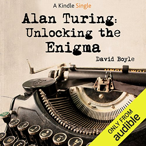 Alan Turing audiobook cover art