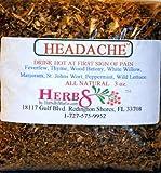 Herbs By Merlin HEADACHE TEA Organic Loose Leaf Tea 2.5 oz