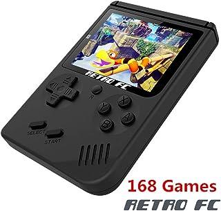 BAORUITENG Handheld Game Console , Retro FC Game Console 3 Inch Screen 168 Classic Games..