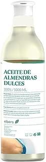 Ebers Aceite Natural de Almendras Dulces - 1000 ml