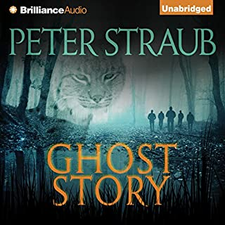 Ghost Story                   Written by:                                                                                                                                 Peter Straub                               Narrated by:                                                                                                                                 Buck Schirner                      Length: 22 hrs and 33 mins     13 ratings     Overall 4.4