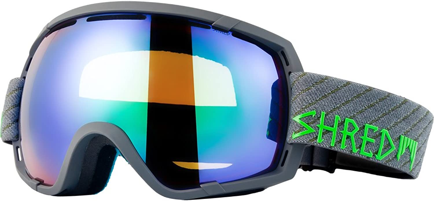 Shred Stupefy Bomb Goggles, Black