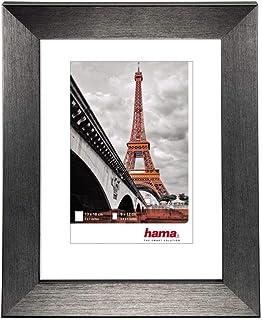 """Hama Cadre photo en plastique """"Paris"""" (cadre de 20 cm x 30 cm, bordures de 20 mm x 15 mm, pour les photo de taille 13 cm x..."""