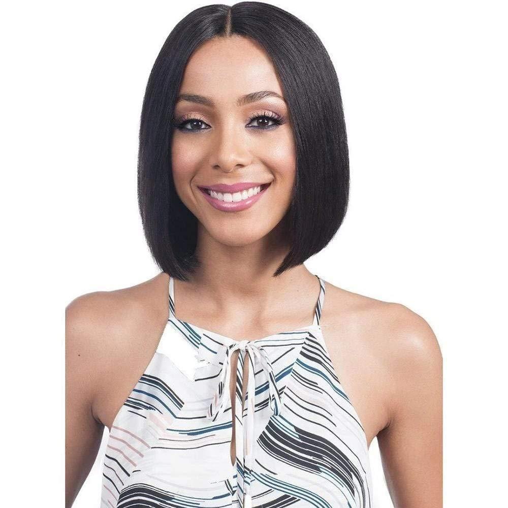 Silky Financial sales Max 52% OFF sale Straight Bob Wig Human Part T Hair 10A Brazilian