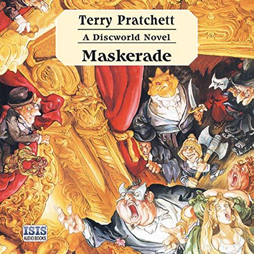 Maskerade audiobook cover art