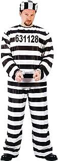 FunWorld Jailbird Or Prisoner Costume