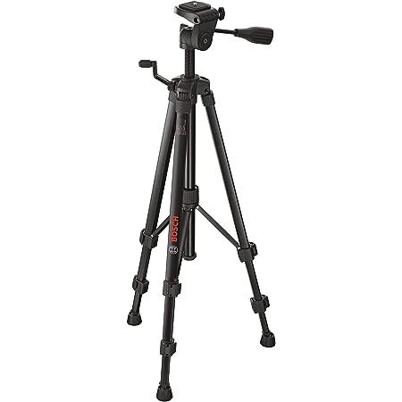 """Bosch Professional Trépied pour Lasers et Niveaux BT150 (Hauteur: 55–157cm, Filetage: 1/4"""")"""