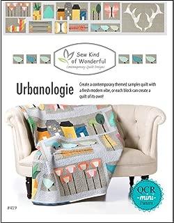 Sew Kind of Wonderful QCR Urbanologie Sampler Bk