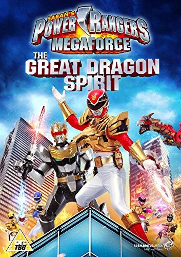 Power Rangers - Megaforce: Volume 2: The Great Dragon Spirit [DVD] [Reino Unido]