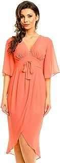 Mayaadi Kleid Vokuhila-Kleid Ball-Kleid Fest-Kleid Abend-Kleid Party-Kleid Cocktail-Kleid HS-370