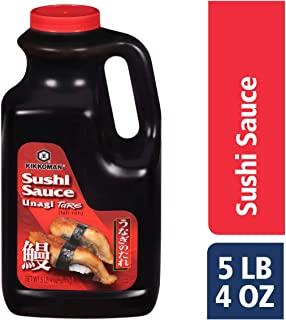 Kikkoman Sushi Sauce, Unagi Tare, 5 Pound 4 Ounce